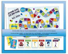 Jeu de société - Jouons avec les émotions - Vice Versa Emotional Awareness, Reading Games, Trouble, Jouer, Behavior, Language, Activities, Feelings, Math
