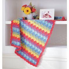 Mary Maxim - Bavarian Baby Blanket