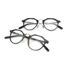 The Stancey Ramars | Eyeglasses Collection. The M82 & M84 feature a acetate + metal bridge combo for both men and women.