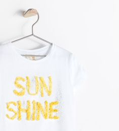 ZARA - KIDS - T-SHIRT WITH EMBROIDERY