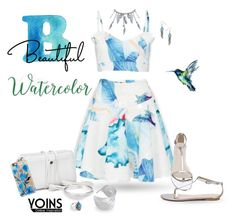 """~Watercolor Romper~"" by justwanderingon ❤ liked on Polyvore featuring Casetify and yoins"