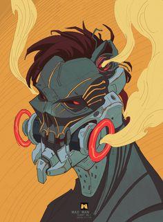 C Θ N C Ξ P T I C Cyberpunk Character, Cyberpunk Art, Sci Fi Characters, Character Illustration, Illustration Art, Character Concept, Concept Art, Character Art, Sci Fi Art