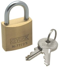 Although not a guarantee, putting a lock on your tent zip adds a little extra security.