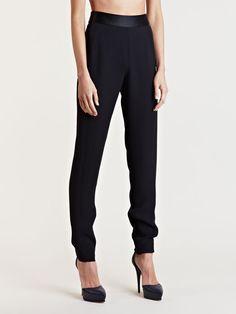 Lanvin Women's Silk Waist Pants