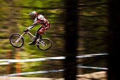 Kind of like flying - Steve Peat