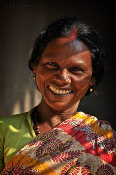Joyful face by partha das, via great faces (shared board) smile, grea Portrait Photography Men, Face Photography, We Are The World, People Of The World, Smile Face, Make You Smile, Beautiful Smile, Beautiful People, Indian People