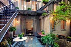 Love this idea for a Condo or City Home - future life baby!