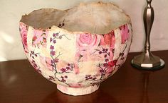 Paper mache Bowl by Live Bohemian, via Flickr