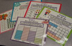 These graphing task cards are one of ten centers that review ALL of the Common Core Standards for math. $
