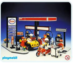 Playmobil Set: 3434 - Esso Gas Station