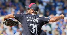 Cleveland Indians Danny Salazar threw 2 shutout innings against the Chicago Cubs at Sloan Park in Mesa, Arizona on Feb. 26, 2017.  (Chuck Crow/The Plain Dealer) Indians and Cubs tied 1-1