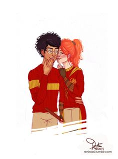 Harry and Ginny by renirossi