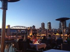 Dining on Granville Island, Vancouver, B.C.