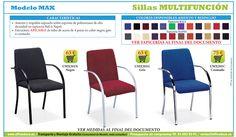 sillas multifunción para oficinas y todo tipo de espacios