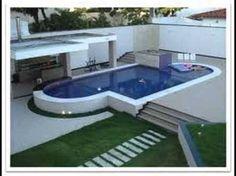 Resultado de imagen para piscina de alvenaria acima do solo