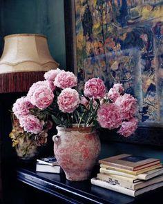 ♆ Blissful Bouquets ♆ gorgeous wedding bouquets, flower arrangements floral centerpieces - pink peonies