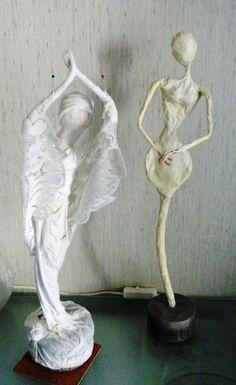 Paverpol- текстильная скульптура   Золотые Руки