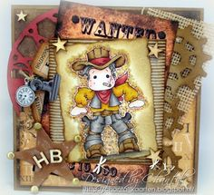 Cards made by Chantal: Lucky Luke ehh... Edwin!