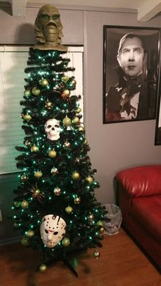 Horror Christmas tree