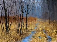 ~ Peter Fiore #tree #landscape #art