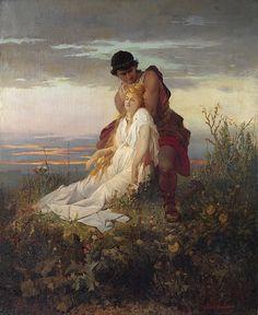 The enchanted sleeper - Vaclav Brozik (Czech painter 1851-1901)