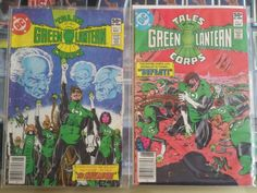 Up for auction are two DC Comics Tales of the Green Lantern Corps comic books, included are number 1 and number 2 issues. Both are in protective sleev... #comics #corps #lantern #green #tales