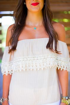 A Southern Drawl: Off The Shoulder