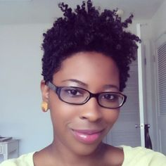 tapered cut...I'm slowly cutting my hair little by little and one day it'll be this short.