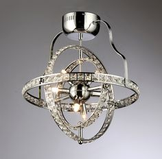Katies 4-light Crystal Chandelier