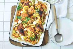 Naan, Paella, Quinoa, Feta, Tasty, Ethnic Recipes, Bulgur