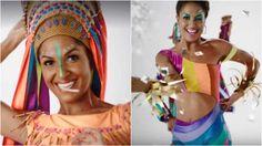 Globeleza agora usa roupa e representa a diversidade do Carnaval