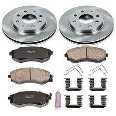 Powerstop Brake Disc And Pad Kits 2-wheel Set Front For Koe1087 #car #truck #parts #brakes #brake #discs, #rotors #hardware #koe1087