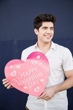 Make it rain perfection. Happy Valentines Day from Carter Jenkins and all of us at Famous in Love. <3