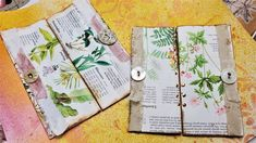 Book Page Art, Up Book, Journal Pages, Junk Journal, Journal Ideas, Art Education Projects, Education Journals, Smash Book Pages, Middle School Art
