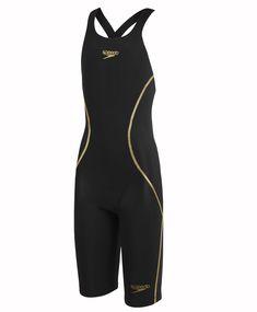 5993ee01f0c Speedo Junior Girls LZR Racer® x Open Back Kneeskin Speedo Fastskin, Racing  Swimsuits,