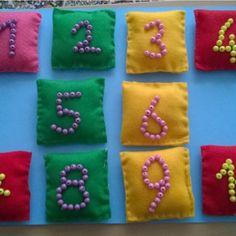 Görme engeliler için sayılar etkinliği :))