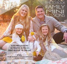 Fall Family Mini Sessions {Lemoore Family Photographer, Hanford Family Photographer}