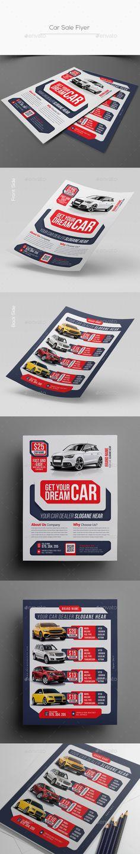 Comics layout pop art blank set Flyer Templates $1000 Flyer - car sale flyer
