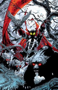 Spawn, the creation of Todd McFarlane in an incredible image - Spawn, a criação de Todd McFarlane numa incrível imagem Comic Book Characters, Comic Book Heroes, Comic Character, Comic Books Art, Comic Art, Monster Characters, Spawn Comics, Bd Comics, Anime Comics