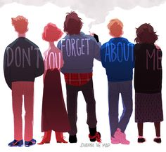 Breakfast Club - via johannathemad.tumblr.com
