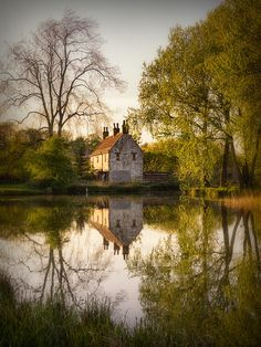 Gamekeeper's Cottage, Cusworth England,Doncaster, South Yorkshire, England. Photo by Ian Barber.