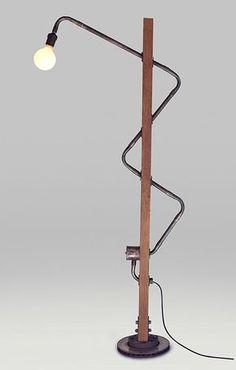 DIY Construction Lamps / Lámpara Zeta