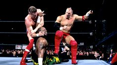 Lance Storm and William Regal vs. The Dudley Boys