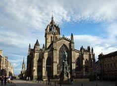 St. Giles Cathedral, Edinburgh, Scotland.
