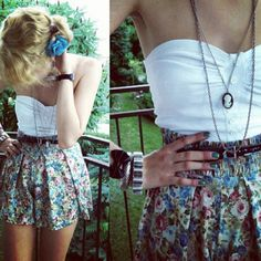 Not sure if I'd wear something like this....but like the shorts.