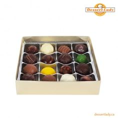 At Dessert Lady, we provide delicious and tempting chocolate truffles in Toronto using quality ingredients. We also provide custom Truffles to create a special menu for a specific event, party or meeting. You can choose from our exclusive range of truffles available with fancy decorations as per your likings.