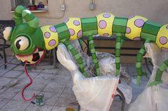 The Centipede Piñata for the Mutant Piñata Show in downtown Phoenix