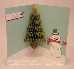 Scored Christmas Tree