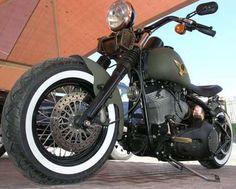 Photo of Blitz Bomber 2002 Harley Night Train Bobber Motorcycle