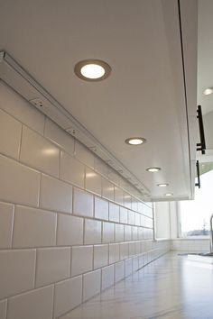 Under Cabinet Lighting In Kitchen Craftsman With Outlet Strip Corner Sink